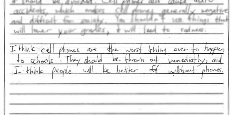Best essay help act